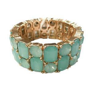 Jewelry - Gem stone statement bracelet (NWT)